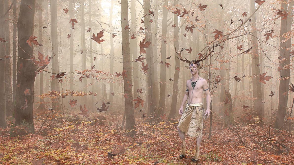 Forest Spirit by Umberink