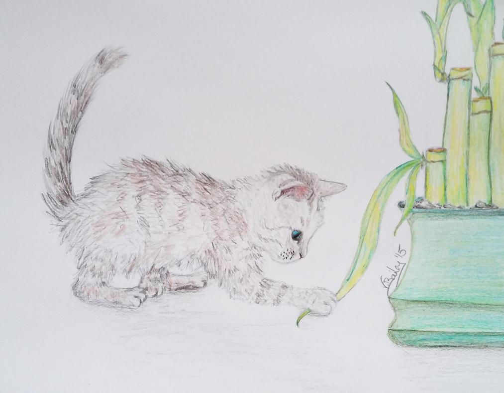 kitten by Umberink