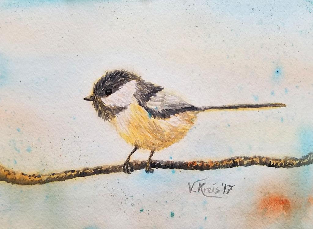 Chickadee by Umberink