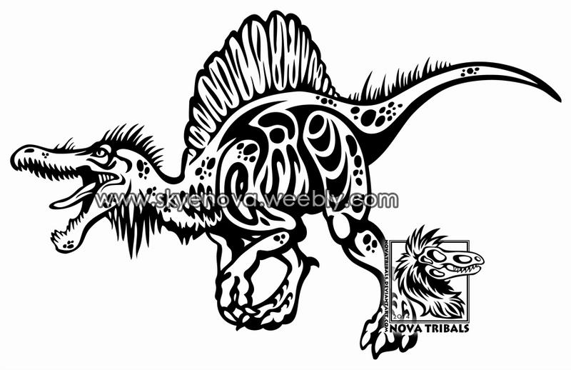spinosaurus tribaltherbis on deviantart