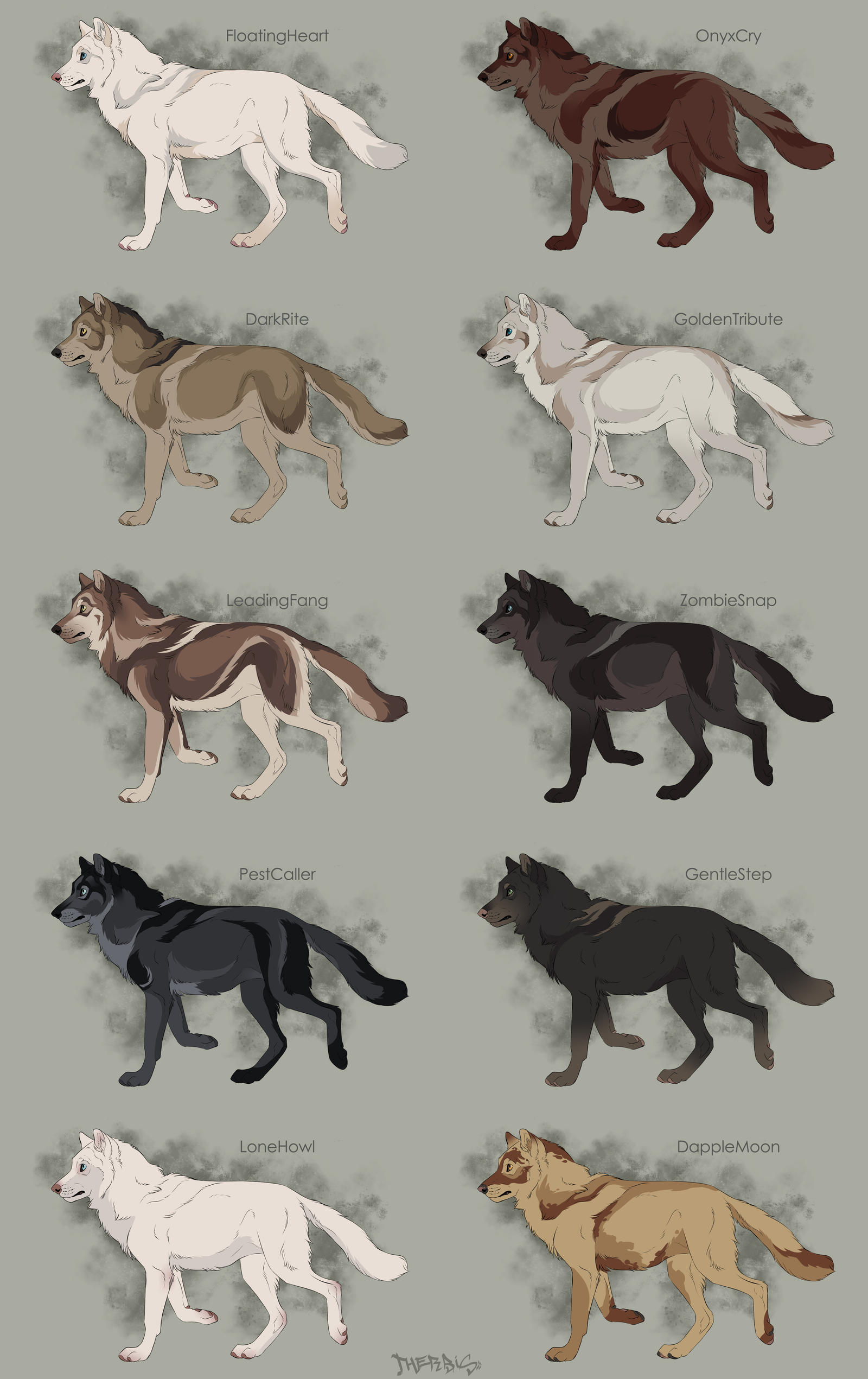 how to draw the big bad wolf step by step