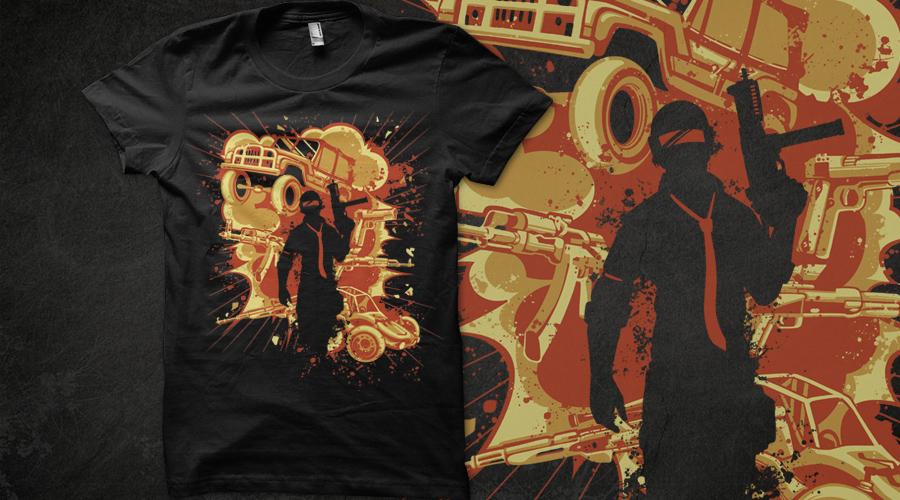 Pubg Wallpaper Deviantart: PUBG Shirt Voting By Therbis On DeviantArt