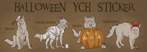 Halloween Sticker YCHS CLOSED