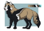 Racoon Wolf ADOPT - CLOSED