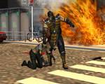 Scorpion vs Sonya