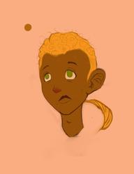 Black Boy... Orange Hair