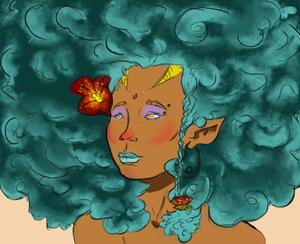 Afro Elf