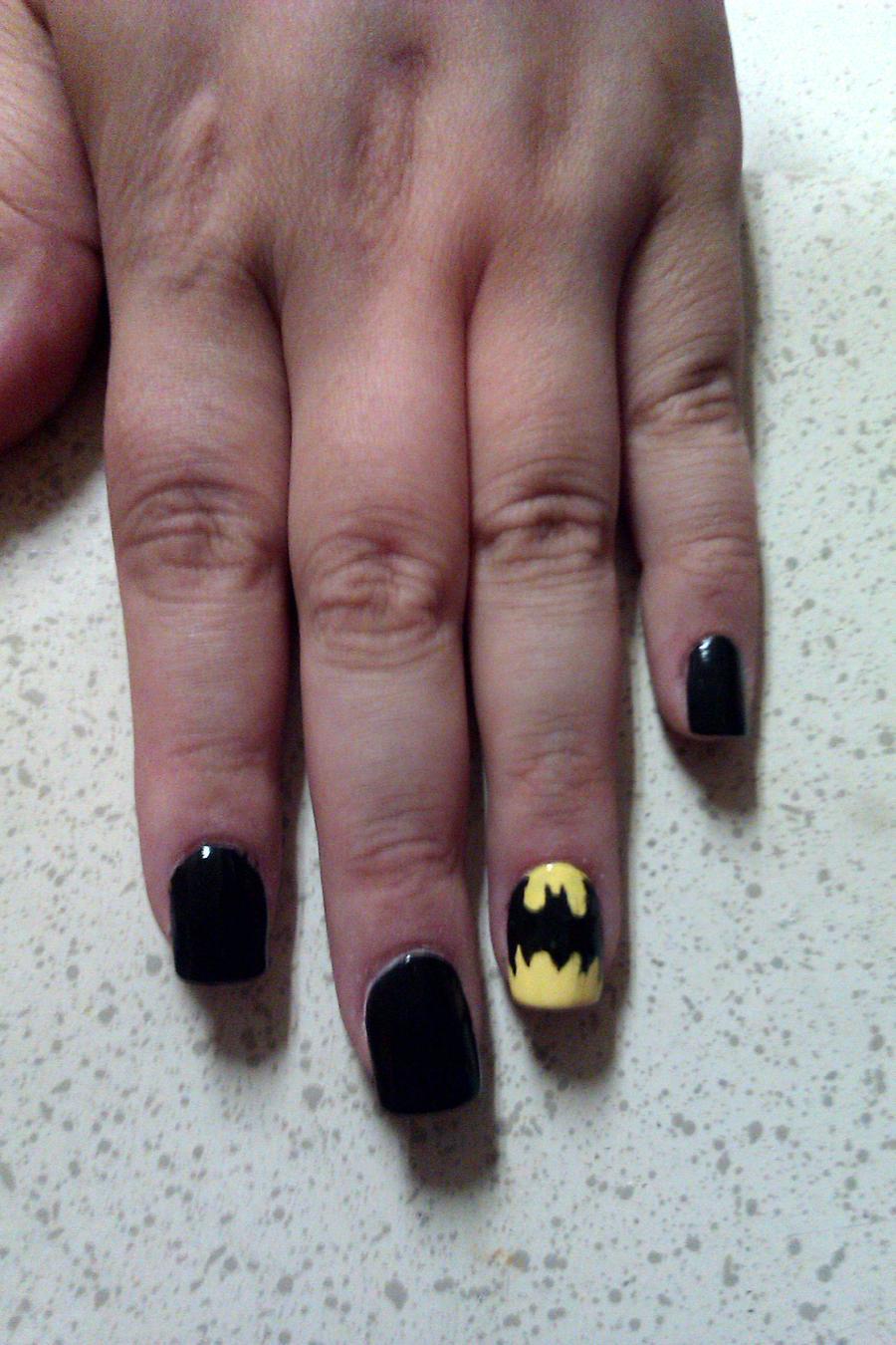 Batman nail art by vstar06 on deviantart batman nail art by vstar06 batman nail art by vstar06 prinsesfo Image collections