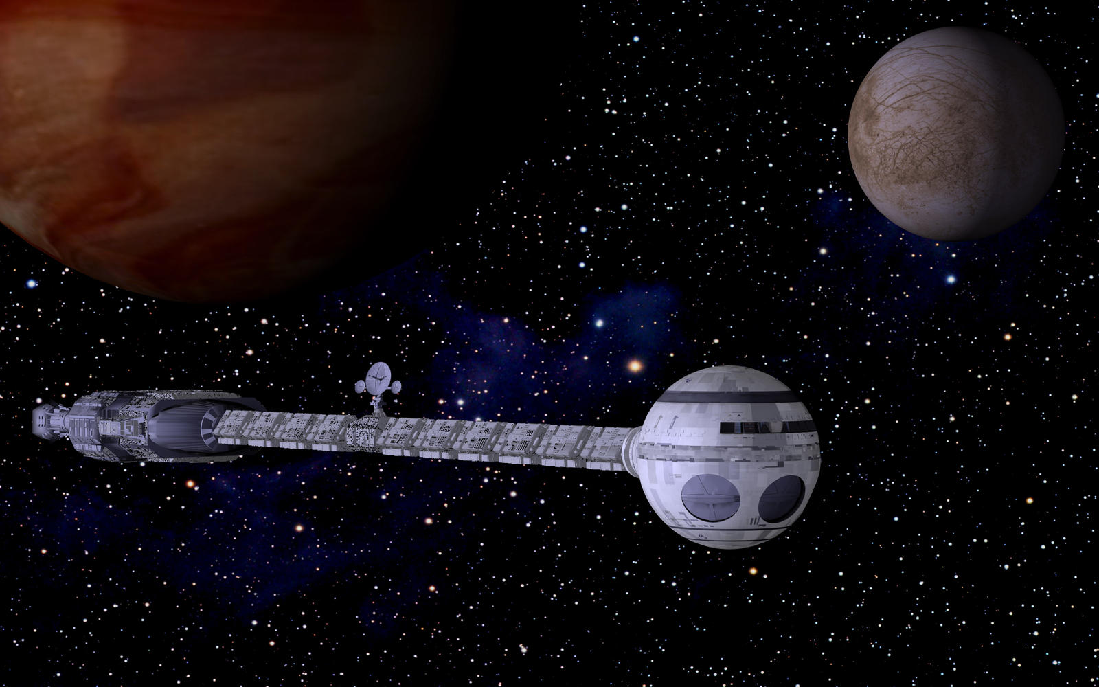 discovery spacecraft from 2001-#9