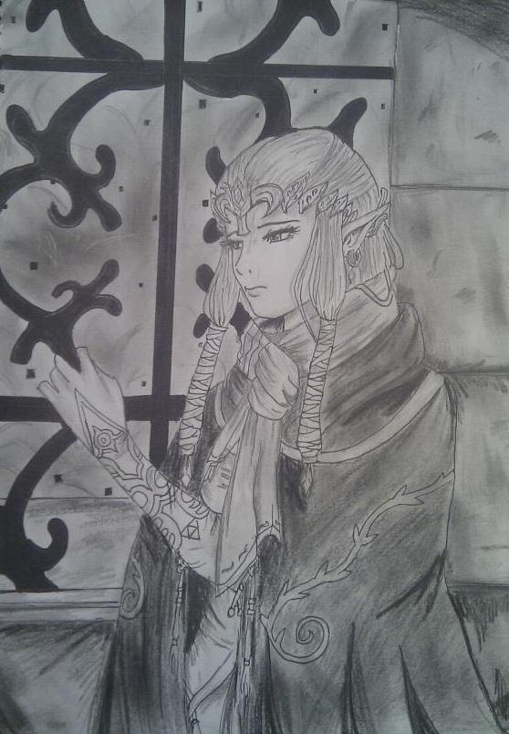 Zelda Waiting For A Hero by tiwa55