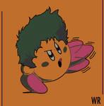 Kirby Beanies skullies Charmant visage Broderie Tricot Chapeau Bonnet Cap UK7