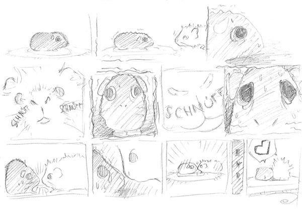 Storyboard Guinea-Pigs by Higarts