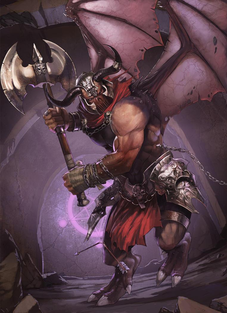 wardpact demon by sensevessel