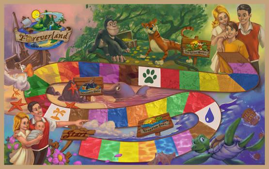 Foreverland Boardgame