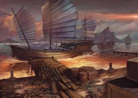 New Port by sensevessel