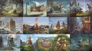 Background artworks by sensevessel