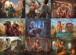 Shadowrift card artworks