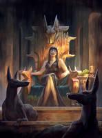 The Death Goddess by sensevessel