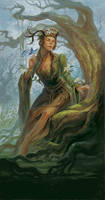 Woodwife by sensevessel