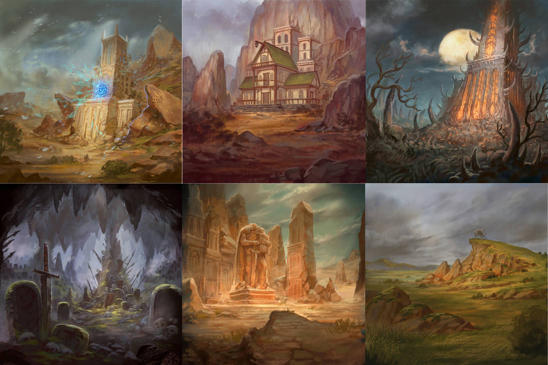 Miscellaneous Background Artworks by sensevessel