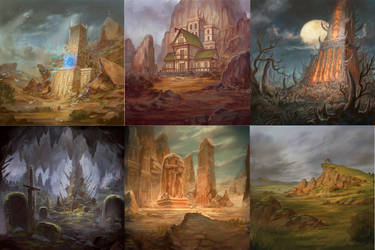 Miscellaneous Background Artworks