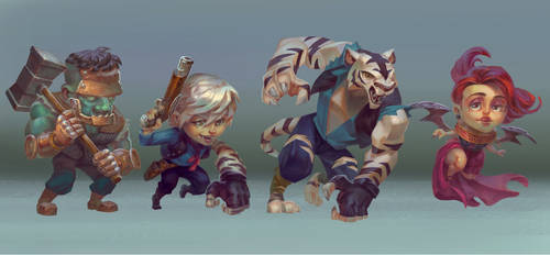 Nocturne-Character design