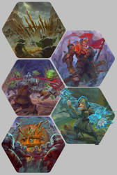 Goblin Game Artworks by sensevessel