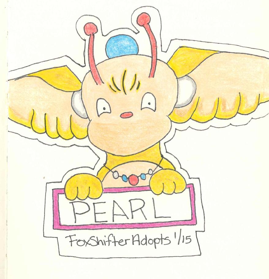 Pearl Badge by FoxShifterAdopts