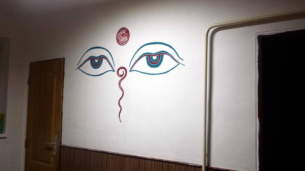 Buddha S Eyes Wall Painting By Ng Rogue On Deviantart