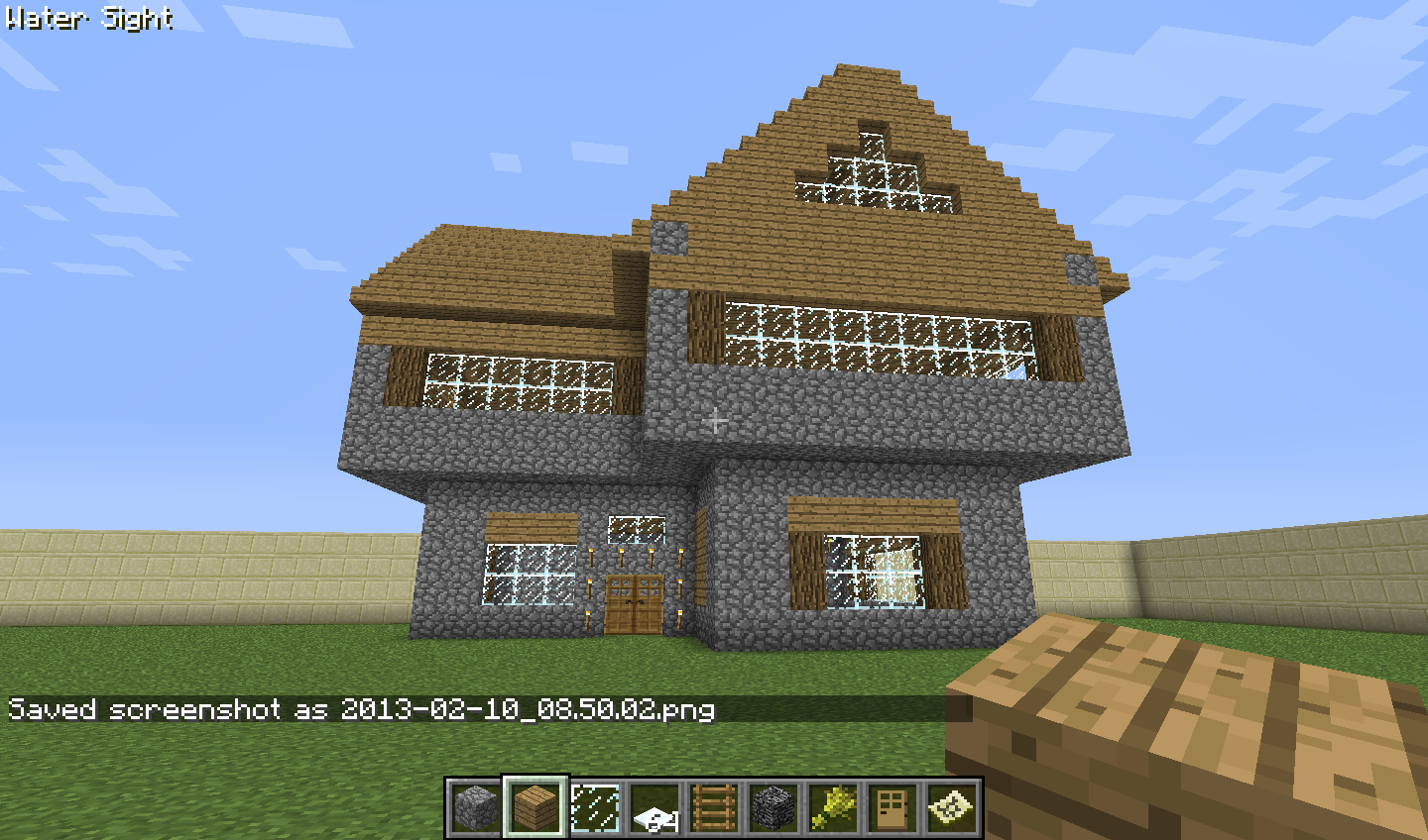Mi casa en minecraft by idakyrie on deviantart for Casas minecraft planos