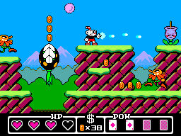 Cuphead Master System Mock-up