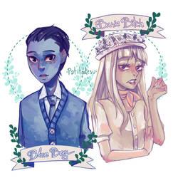 Blue Boy and Basic Bitch