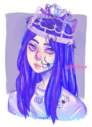 Billie Elish - You should see me in a crown by Patitodesu