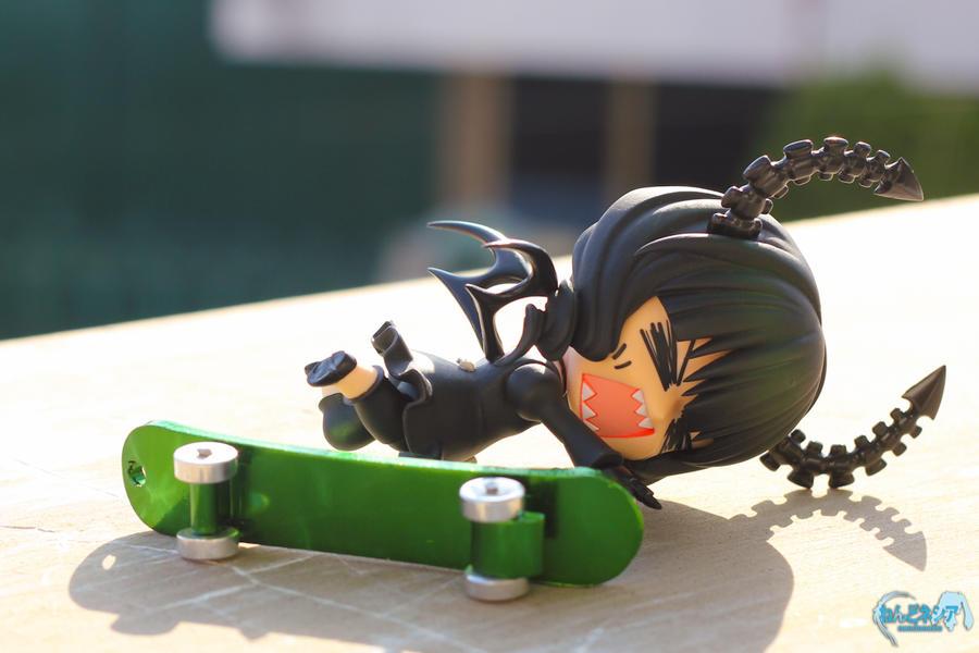 Dead Master Skateboarding Attempt 1 by nendonesia