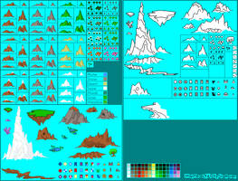 Pixel Map Pieces V4.0 by StarRaven