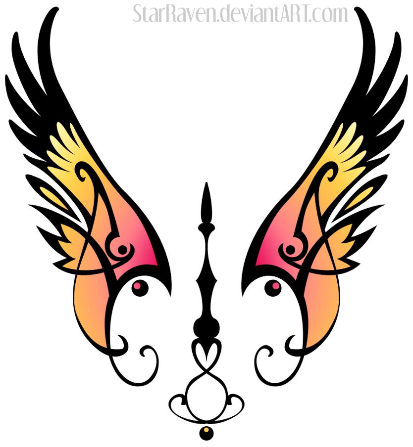 Elegant Wings by StarRaven