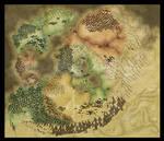 Map of Shalyeun v2 WIP