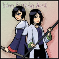 Acra Birthday Gift