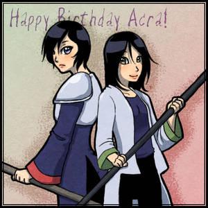Acra Birthday Gift