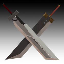 FF Cloud Swords