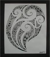 maori ta moko by closetpirate