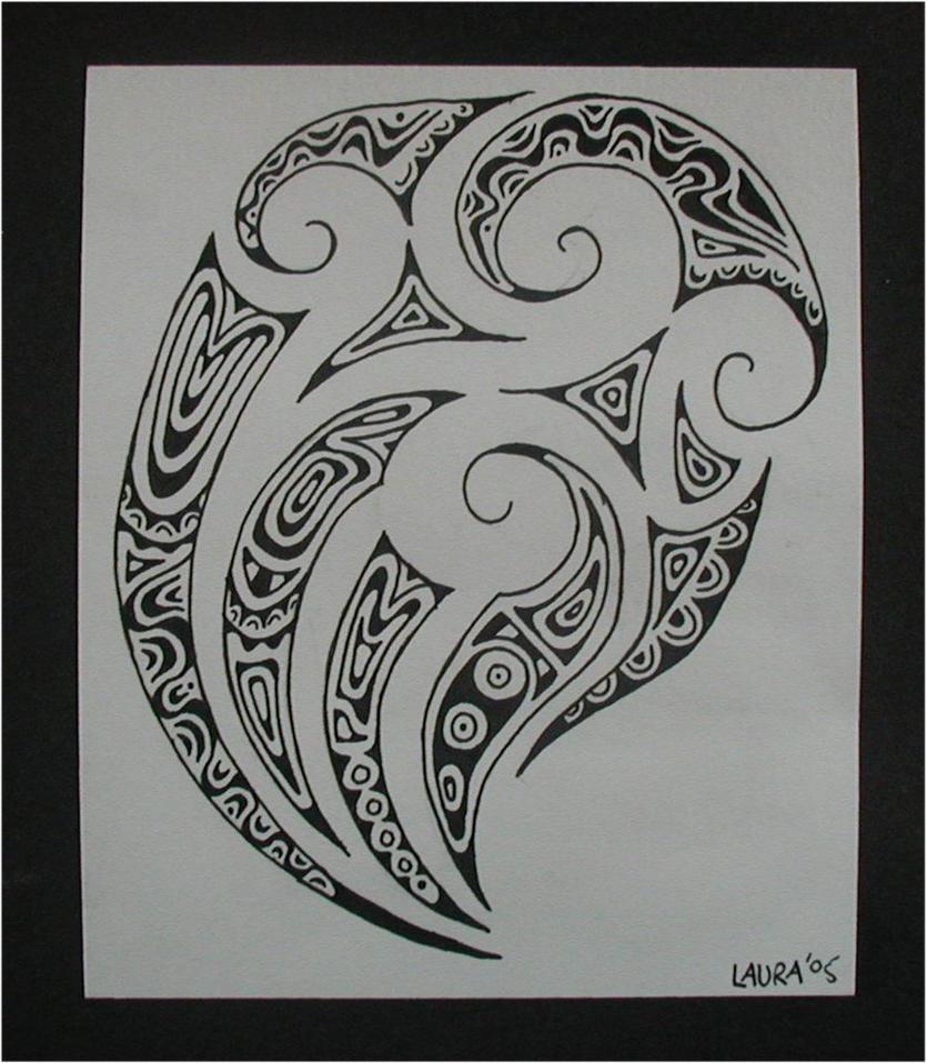 maori ta moko by closetpirate. Black Bedroom Furniture Sets. Home Design Ideas