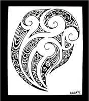 posterised tattoo design by closetpirate