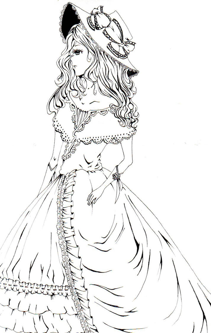 Victorian Girl by Things-That-Dream