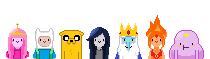 Adventure Time Pixel Portraits by madokamagikarp