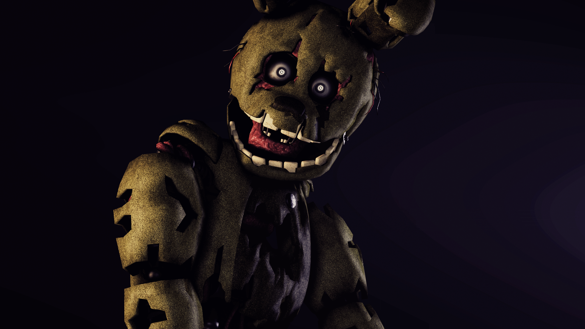Found you springtrap poster by scruffygamer on deviantart - Fotos trap ...