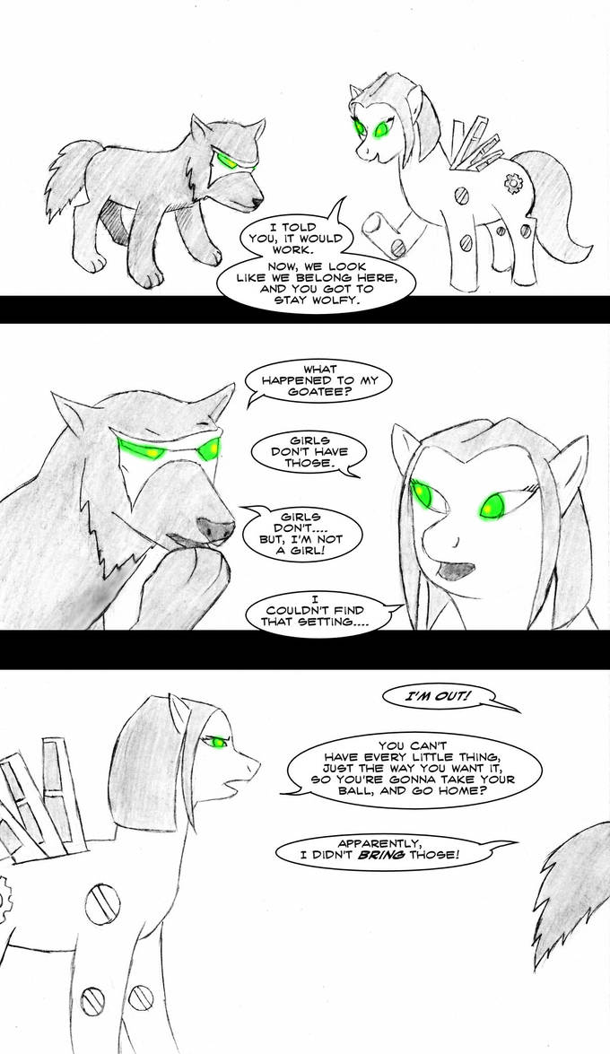 The One With the Ponies by Greyryder