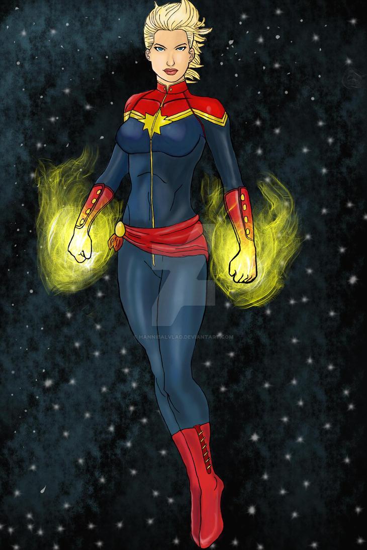 Captain Marvel by HannibalVlad