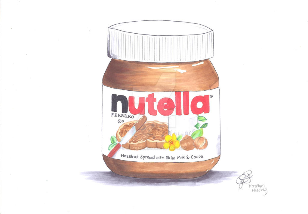 Image Gallery nutella drawing