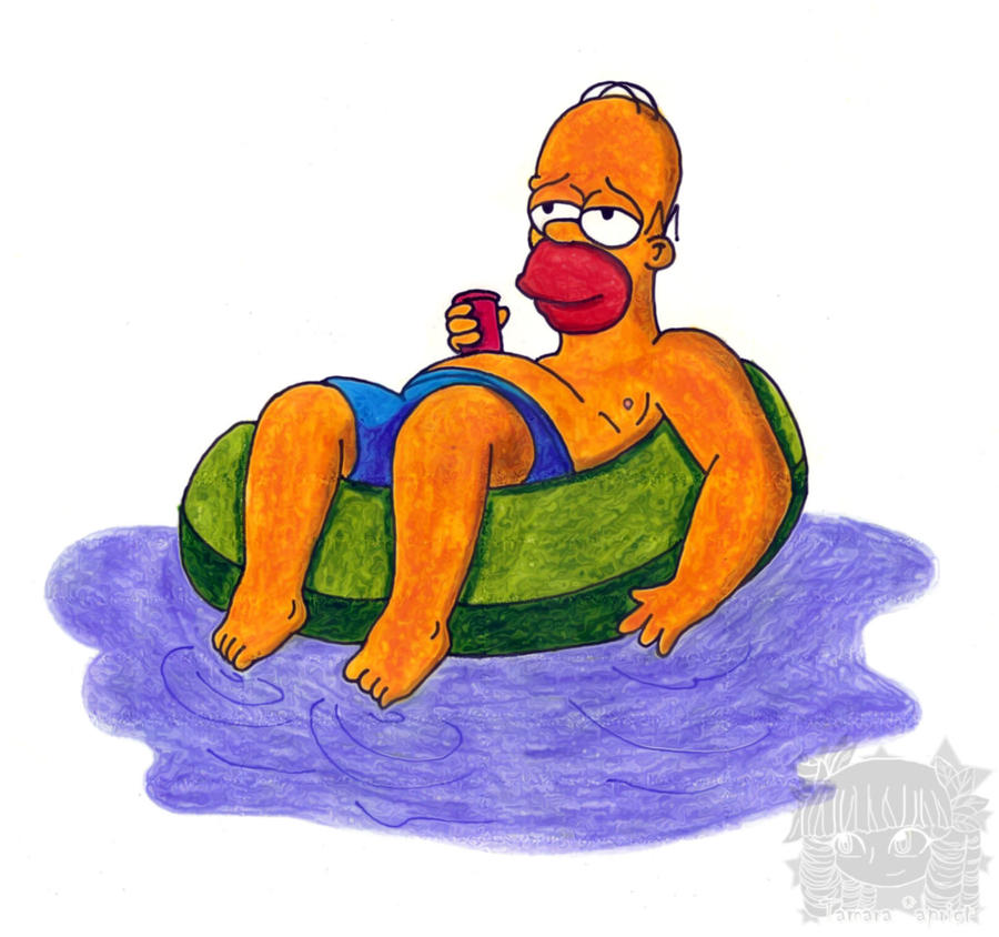 Homer Simpson by aprict